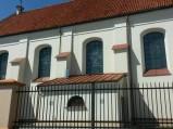Boczna nawa kościoła w Piątku