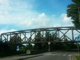 Most kolejowy w Piszu