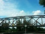 Most kolejowy nad Pisą w Piszu