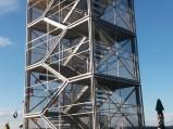 Wieża widokowa, przy plaży miejskiej w Piszu