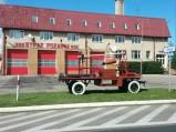 Zabytkowy wóz strażacki w Piszu