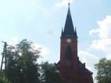 Wieża kościoła Jana Chrzciciela w Pniewniku