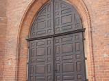 Drzwi, kościół św. Stefana, Policzna
