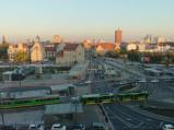Widok z hotelu Mercure Poznań Centrum