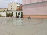 Fontanna koło w Radomiu
