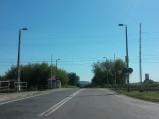 Dojazd do przejazdu kolejowego w Rejowcu Fabrycznym