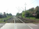 Na torach przejazdu kolejowego w Rejowcu Fabrycznym