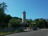 Wieża kościoła w Rumi