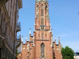 Stary kościół św. Gertrudy w Rydze