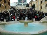 Fontanna i Schody Hiszpańskie w Rzymie