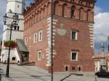 Wieża z zegarem, ratusz w Sandomierzu