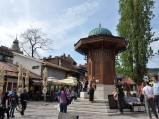 Fontanna Sebilj w Sarajewie
