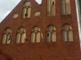 Fasada kościoła w Spychowie