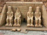 Świątynia Abu Simbel, Park Miniatur, Strysza Buda