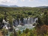 Wodospady Kravica w Studenci