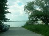 Wjazd do Jeziora Sumin w Suminie