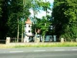 Kościół p.w. św. Andrzeja Boboli, Szyldak