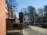 Skwer przy bramie Klasztornej w Toruniu