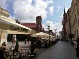 Kawiarnie, Rynek Staromiejski, Toruń