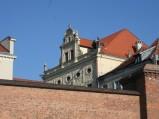 Szczyt Pałacu Dąmbskich w Toruniu
