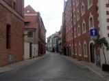 Ulica Rabiańska, Stary spichrz  w Toruniu