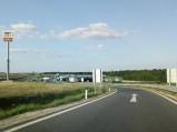 Wjazd na Raststation Hochleithen