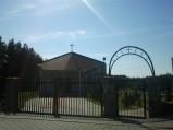 Brama wejściowa, kaplica na cmentarzu w Tupadłach