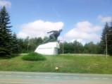 Pomnik Obrońców Mławy w Uniszkach Zawadzkich
