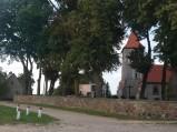 Wieża kościoła w Uzdowie