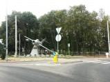 Pomnik 1. Pułku Lotnictwa Myśliwskiego Warszawa w Warce