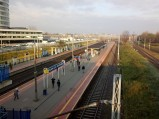 Peron Stacji kolejowej Warszawa Aleje Jerozolimskie