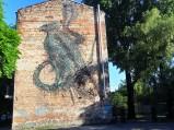 Mural ulica Bliska, Warszawa