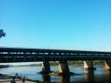 Widok na Most Gdański w Warszawie