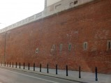 Mury muzeum przy ulicy Tamka
