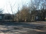 Brama toru kolarskiego RKS Orzeł w Warszawie