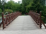 Kładka w parku w Wejherowie