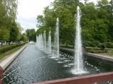 Fontanna w parku w Wejherowie