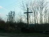 Krzyż na skrzyżowaniu w Wereszczach Dużych