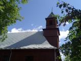 Wieża kościoła św. Stanisława Biskupa i Świętej Trójcy w Wereszczynie
