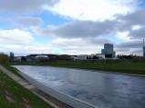Rzeka Wilia, w tel Narodowa Galeria Sztuki w Wilnie