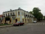 Czworobok w centrum miasta we Włodawie
