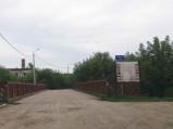 Dojazd do mostu na Włodawce w Włodawie