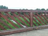Przystań kajakowa na rzece Włodawka we Włodawie