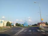 Rondo, ulica Korolowska we Włodawie