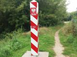 Słup graniczny 014 we Włodawie