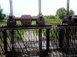 Tama na rzece Mogilanka w Woli Korybutowej