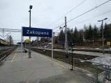Peron Stacja kolejowa w Zakopanem