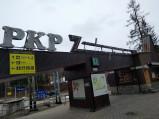 Wejście na Dworzec PKP w Zakopanem