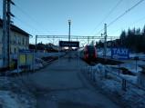 Wejście na peron, Dworzec PKP w Zakopanem