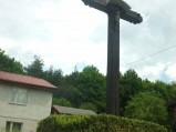 Kapliczka, krzyż w Żarnowcu